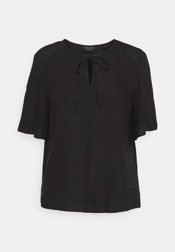 BLOUSE SHORT SLEEVE TUBE-TAPE - Print T-shirt - dark atlantic