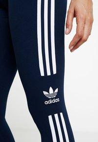 adidas Originals - ADICOLOR TREFOIL TIGHT - Leggings - collegiate navy - 3