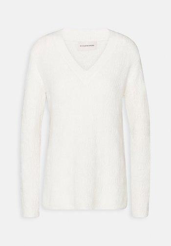 BIFORA - Jumper - soft white