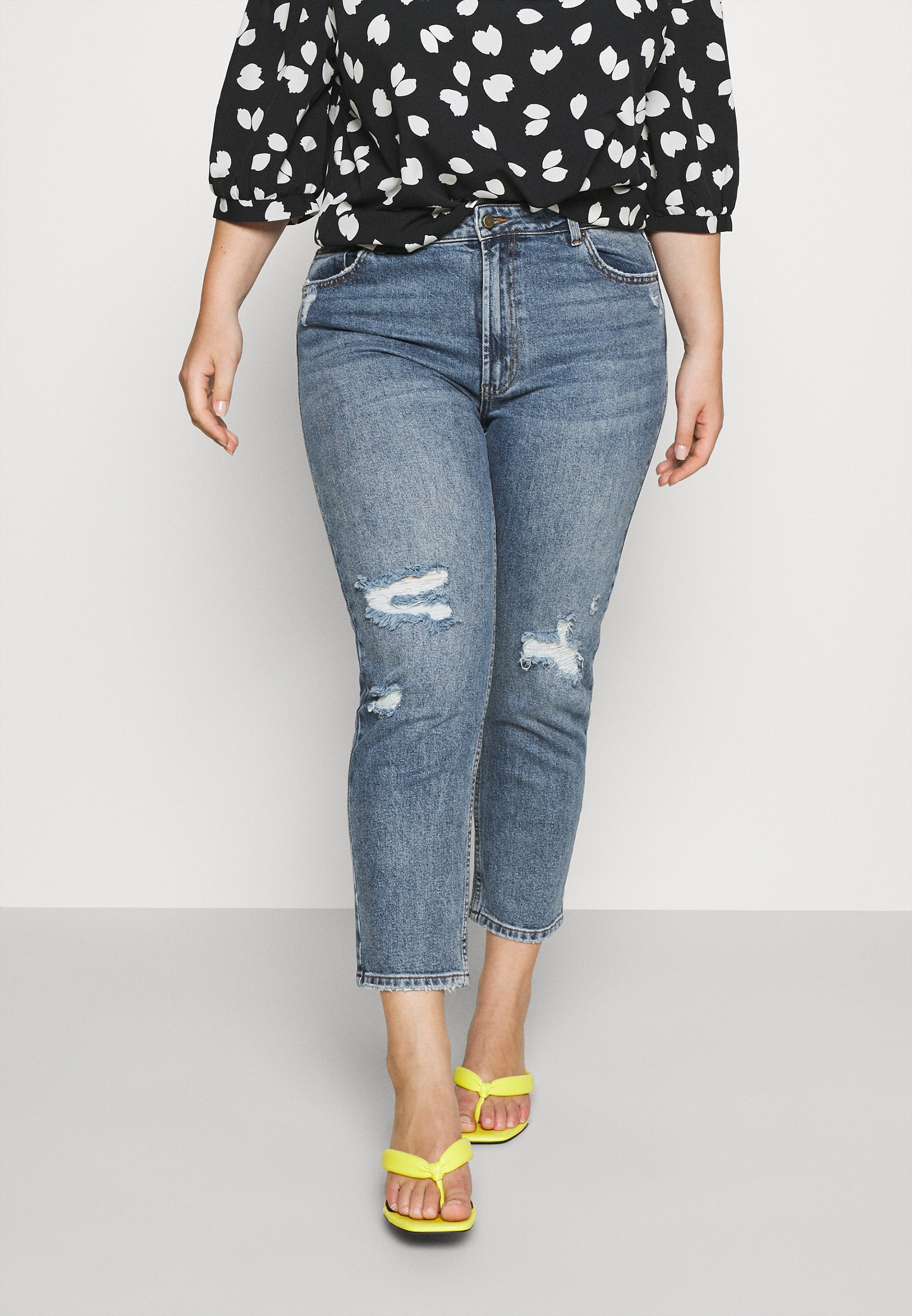 Women CARMILY MOM ANKEL - Jeans Tapered Fit