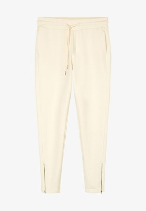Tracksuit bottoms - raw cream