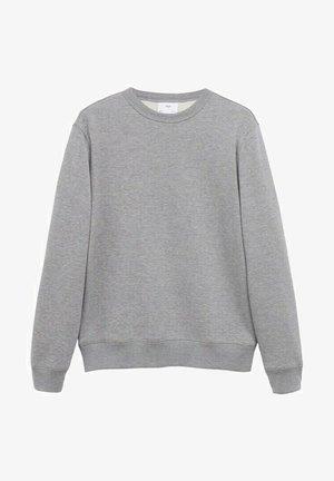 Sweatshirt - mittelgrau meliert