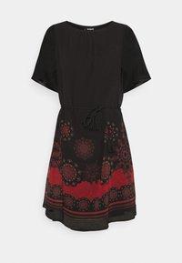 Desigual - VEST TAMPA - Day dress - black - 4