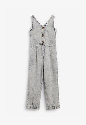 Overall / Jumpsuit /Buksedragter - grey denim