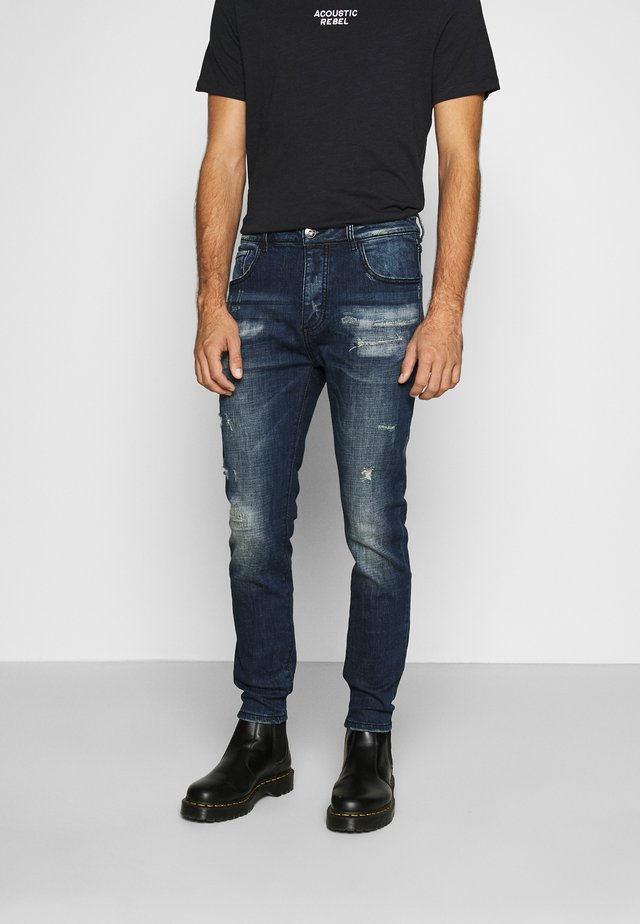 OSCARDENIM - Jean slim - blue wash