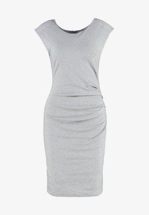 INDIA O NECK - Shift dress - grey