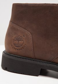 Timberland - EARTHKEEPERS STORMBUCKS - Lace-up ankle boots - burnished dark brown - 5