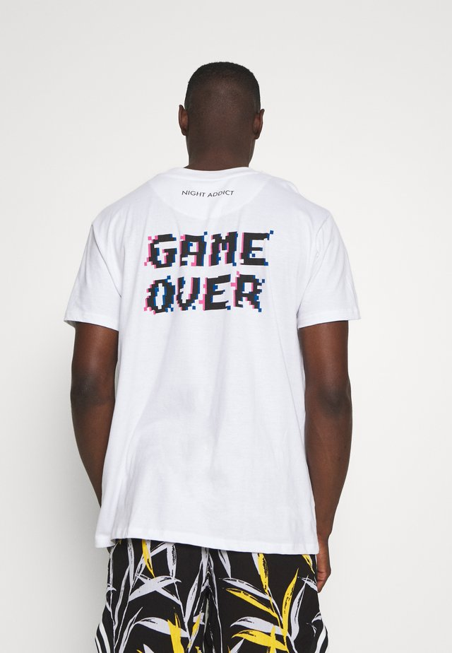 GAME - T-shirt con stampa - white