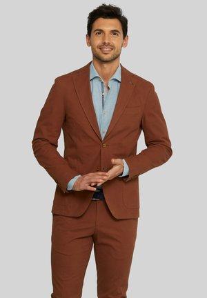 ELLIOT WASHED - Suit jacket - brown
