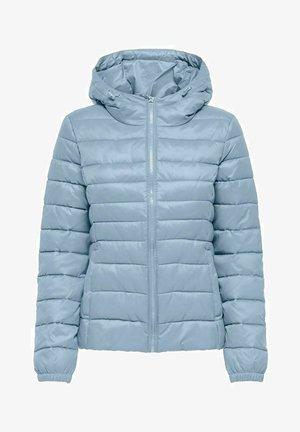 ONLTAHOE HOOD JACKET  - Light jacket - blue fog