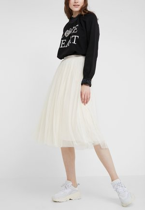 DOTTED SKIRT - A-Linien-Rock - champagne