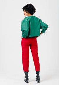 Solai - ABSTRACT FACES  - Light jacket - evergreen - 2