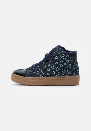 TRAINERS - High-top trainers - dark blue