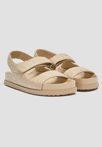 PULL&BEAR - Platform sandals - sand - 2