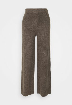 NMSALLY LOOSE PANT - Bukser - taupe gray