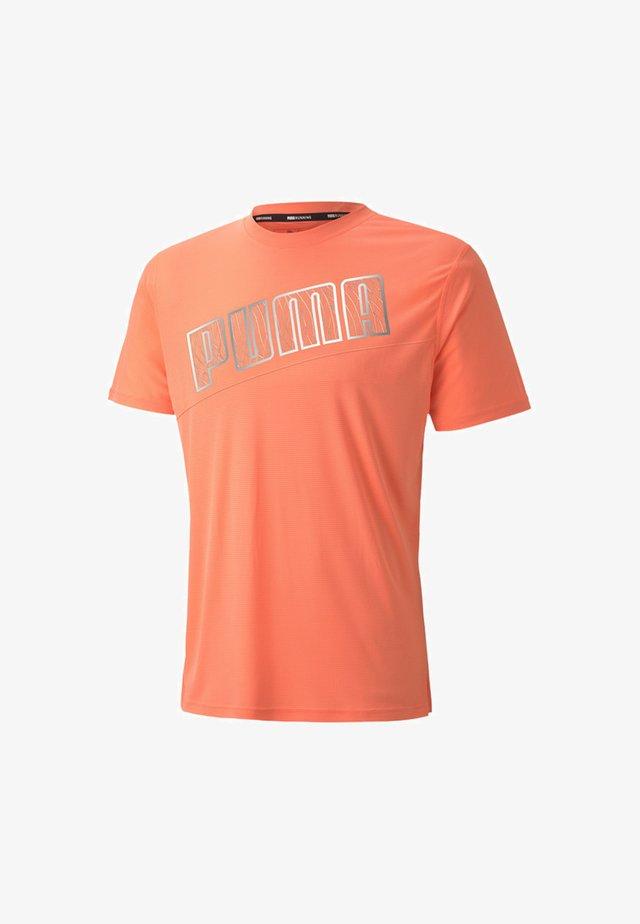 Print T-shirt - nrgy peach