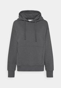 NU-IN - MINIMAL HOODIE - Sweatshirt - dark grey - 0