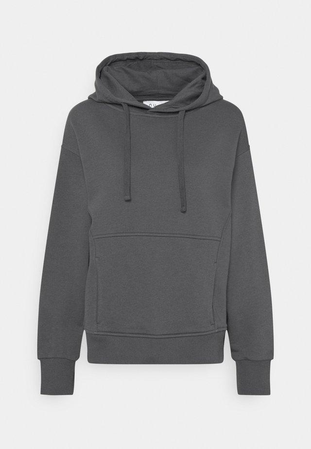 MINIMAL HOODIE - Sweater - dark grey