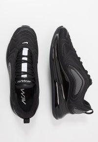 Nike Sportswear - AIR MAX 720 RVL - Sneakers - black/white - 1