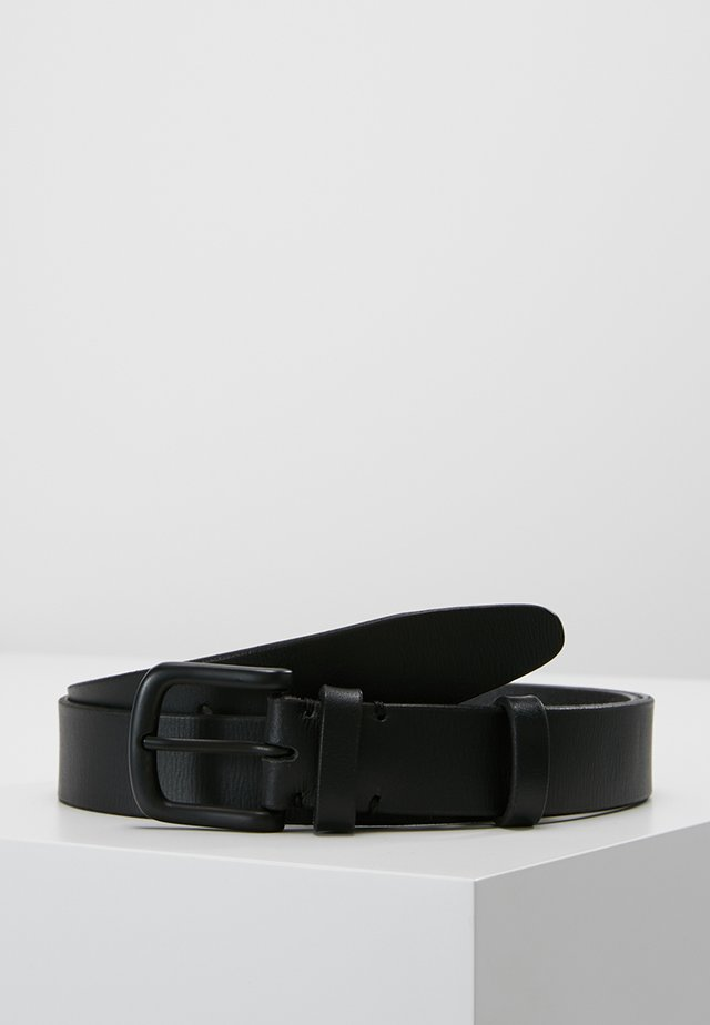 HAMBURG BELT - Vyö - black
