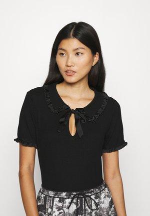 OHADARA - T-shirt imprimé - noir