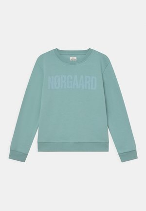 ORGANIC TALINKA UNISEX - Sweatshirts - aqua