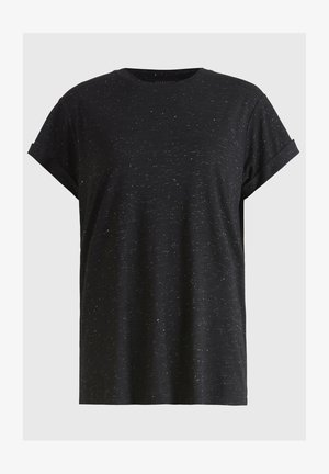 ANNA  - Basic T-shirt - black