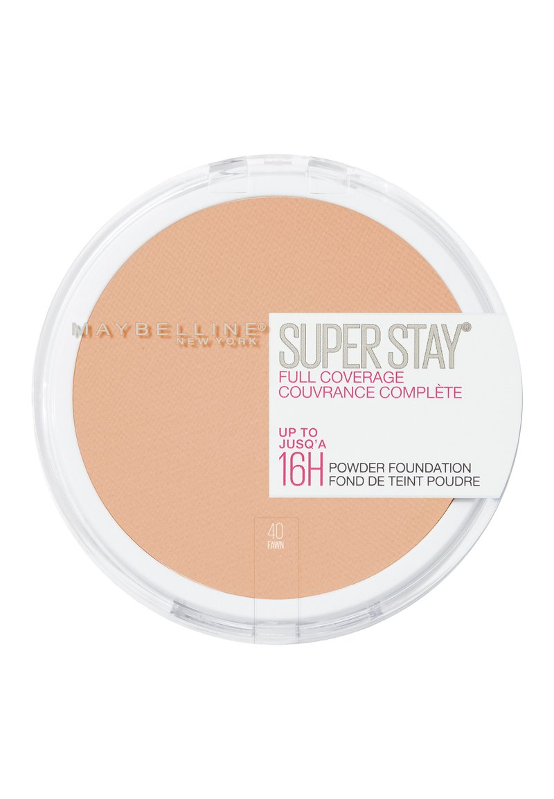 Maybelline New York - SUPERSTAY 24H PUDER - Puder - 40 fawn