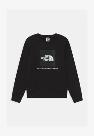 BOX CREW UNISEX - Sweatshirt - black