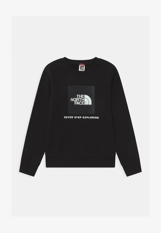 YOUTH BOX CREW UNISEX - Sweatshirt - black