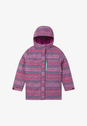 ALPINE FREE FALL II - Snowboard jacket - plum