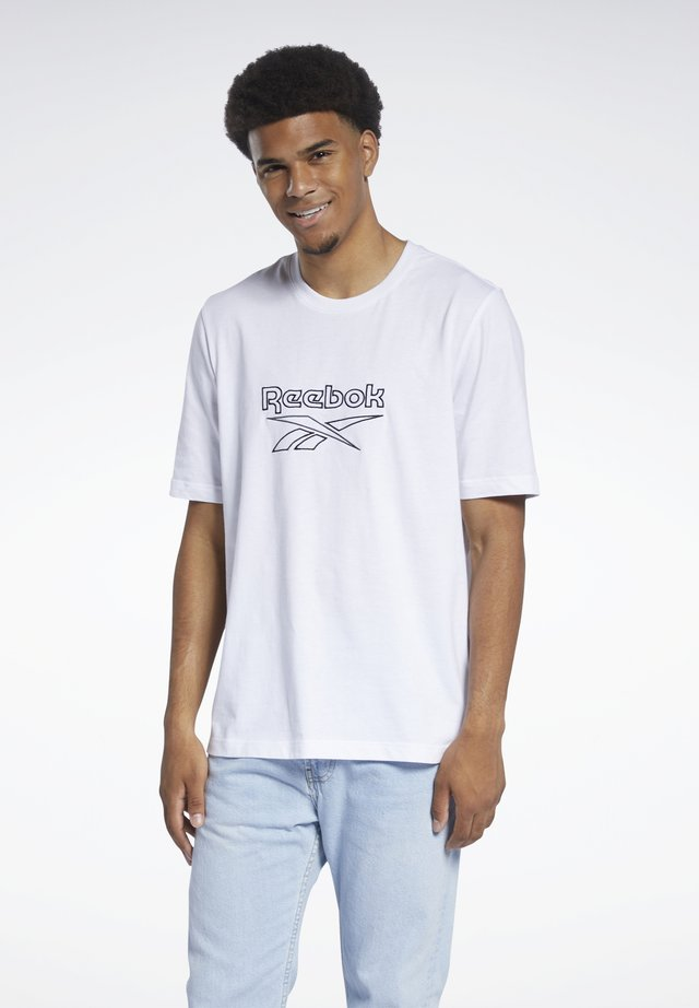 VECTOR TEE - T-shirt con stampa - white