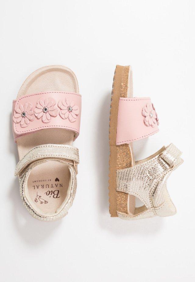 BIO - Sandaler - rosa/gold