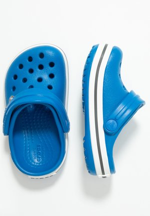 CROCBAND - Pool slides - bright cobalt/charcoal
