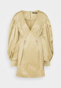 Mother of Pearl - MINI DRESS  - Vestido informal - stone - 4