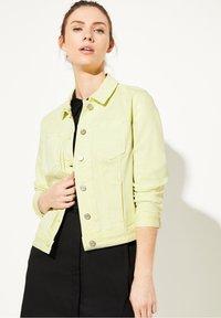 comma casual identity - Denim jacket - lemon - 0