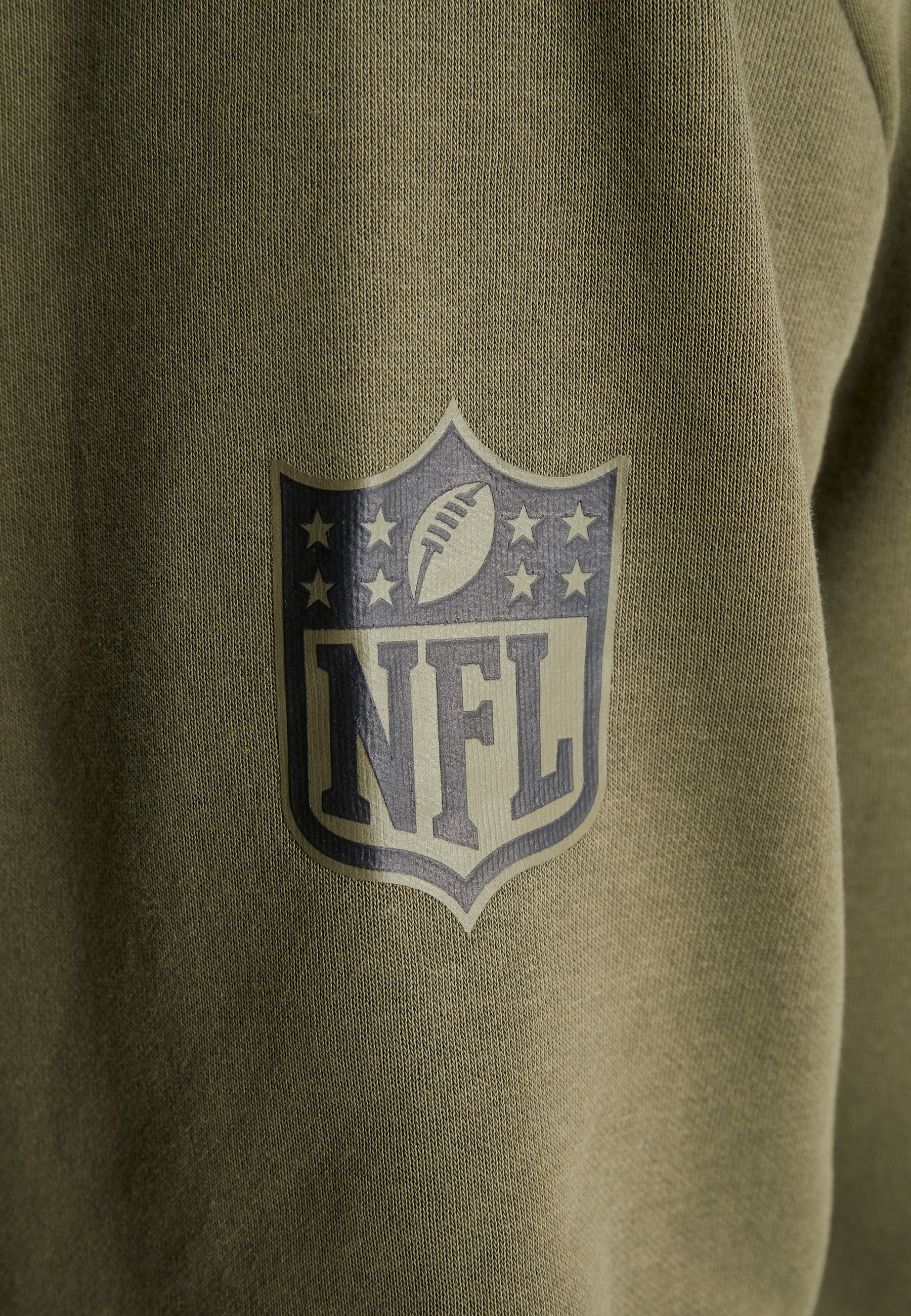 New Era NFL OAKLAND RAIDERS CAMO COLLECTION HOODY - Sweat à capuche - mottled olive/khaki