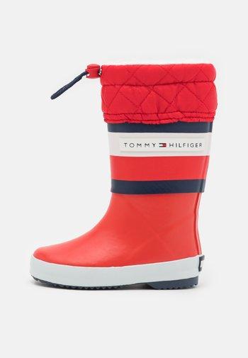 UNISEX - Stivali di gomma - red