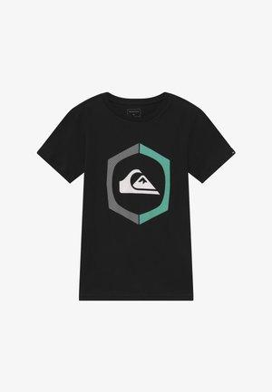 SURE THING - Print T-shirt - black