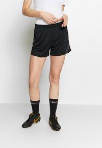 Nike Performance - DRY ACADEMY 20 SHORT - Korte broeken - black/anthracite - 0