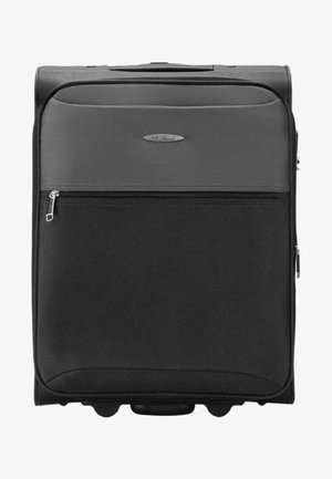 Wheeled suitcase - black/grey