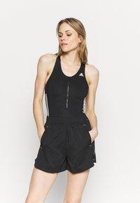 adidas Performance - LEOTARD  - Gym suit - black/white - 0