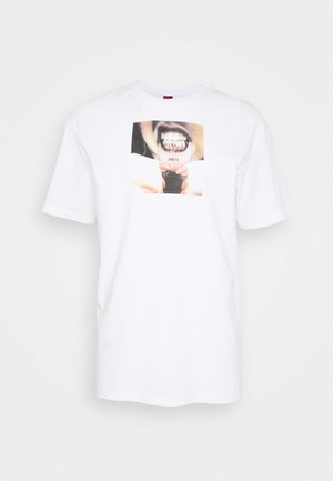 UNISEX GRILLS - T-shirt con stampa - white