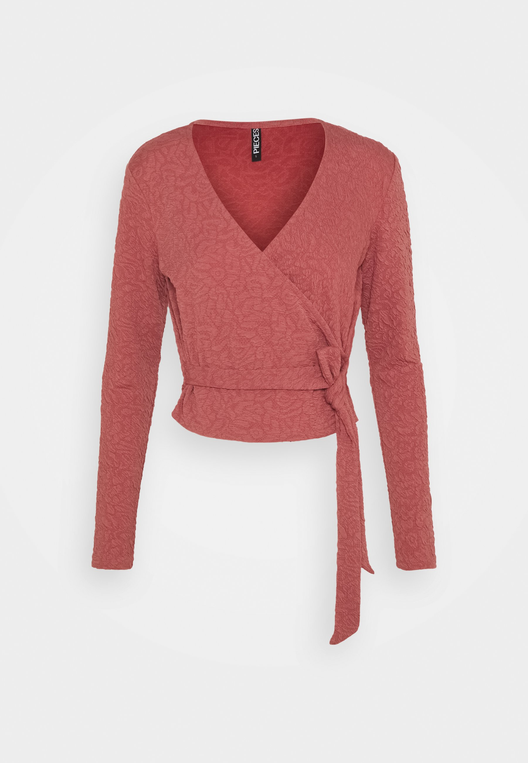 Women PCGRACELIA WRAP TOP - Long sleeved top