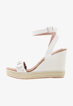 Sandales à talons hauts - white