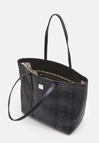 MCM - TONI VISETOS SHOPPER MEDIUM - Tote bag - black - 3