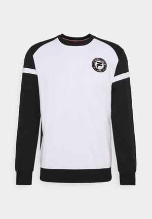 NILS - Sweatshirt - black/white