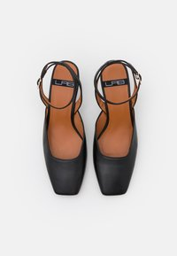LAB BY AG - ANKLE STRAP - Tacones - black - 5