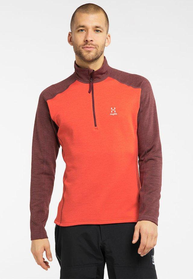 HERON MEN - Sweatshirt - habanero/maroon red