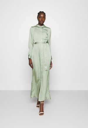 EASY SHIRTDRESS SOFT - Maxi dress - sage bouquet